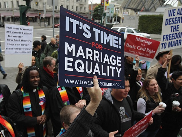 gay couples should be allowed to marry essay