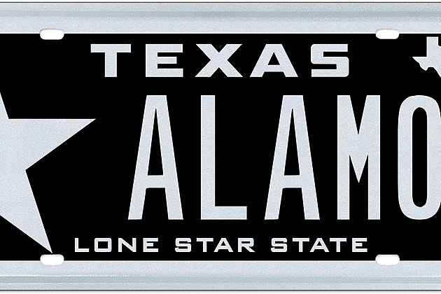 My Plates to Auction Off 'ALAMO' Texas License Plate