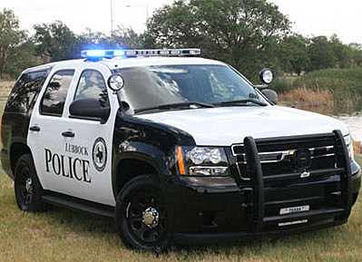 Lubbock Police Department Tahoe Patrol Vehicle