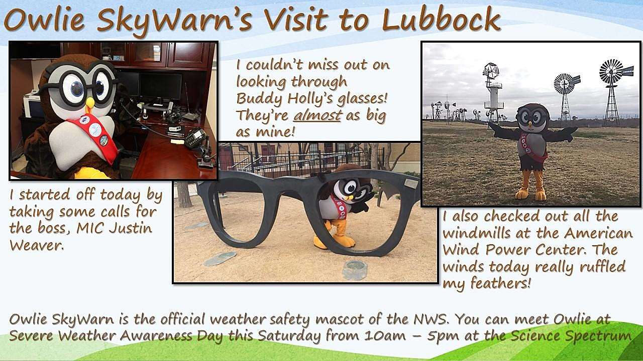Severe Weather Awareness Day Events to Be Held at Lubbock Science ...