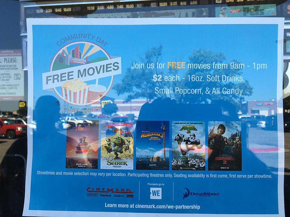 Lubbock Movie Theaters Offer Free Movies Cheap Concessions For Community Day
