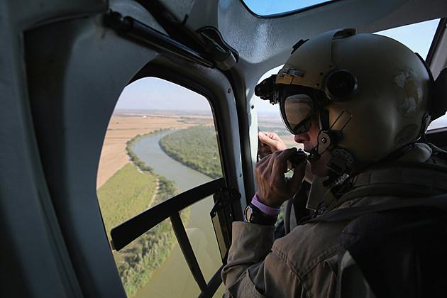 US Customs And Border Security Agents Patrol Texas-Mexico Border
