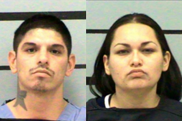 Raynaldo Jacob Enriquez and Geneva Monique Leal mugshots