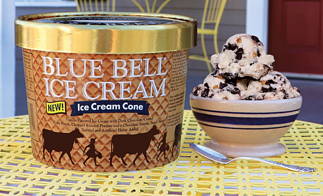 Blue Bell- Ice Cream Cone Flavor_022417