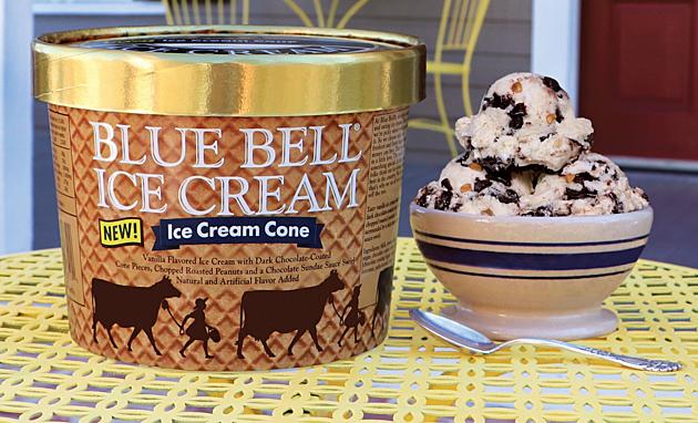 Blue Bell- Ice Cream Cone Flavor_022417
