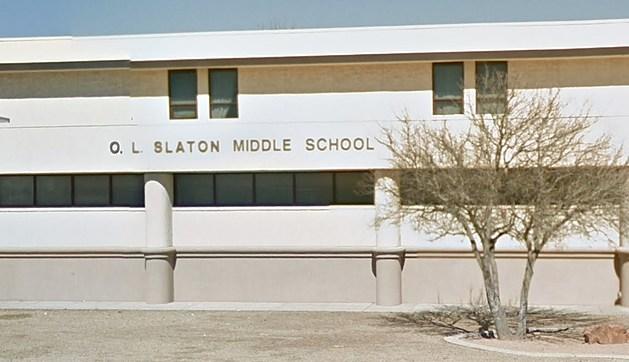 O.L. Slaton Middle School in Lubbock, Texas
