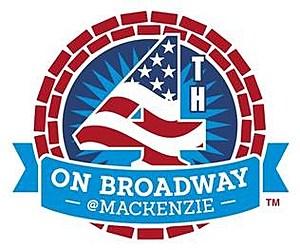 4th on Broadway in Mackenzie Park- Logo (Undated)