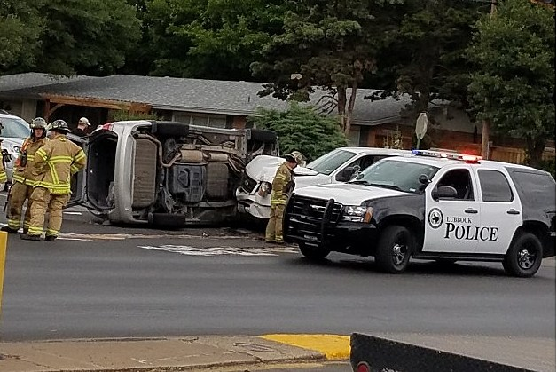 Lubbock Police Car Accident