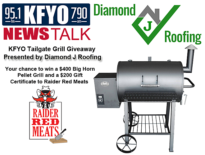 sc 1 st  KFYO.com & KFYO Tailgate Grill Giveaway Presented by Diamond J Roofing memphite.com