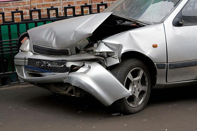 Wrecked Car 1