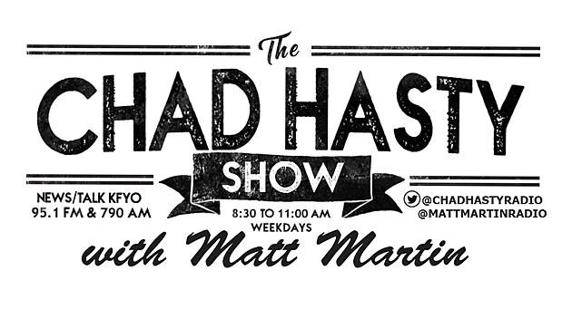 The Chad Hasty Show with Matt Martin (Show Logo- 2021)