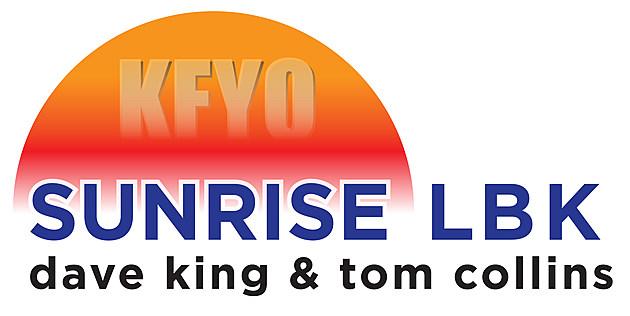 Sunrise LBK on KFYO (Show Logo)